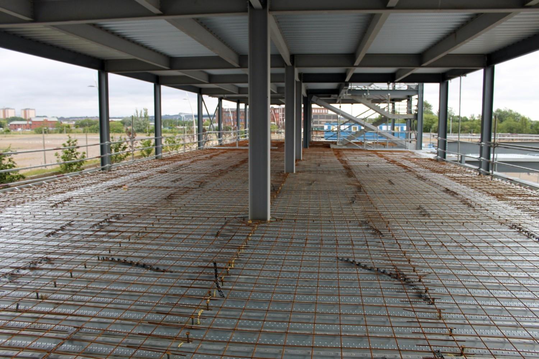 Concreting Northern Steel Decking